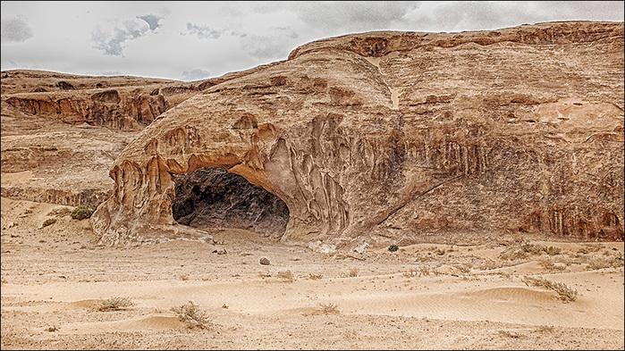 Скалы впустыне Вади Рам