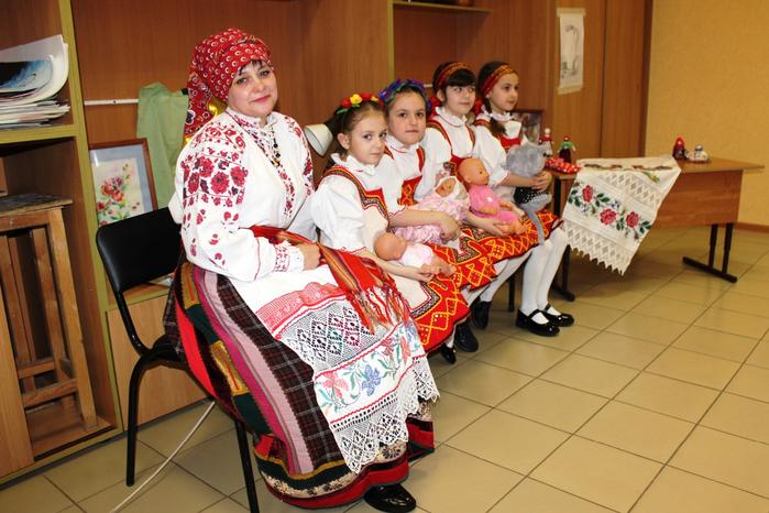 Открытый урок преподавателя О.С. Капусняк (музыкальный фольклор)