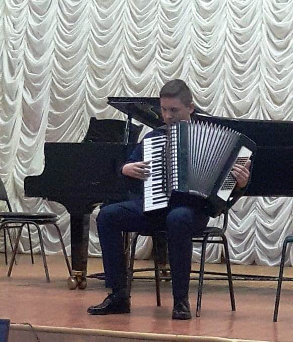 Выступление Максима Гаркушова