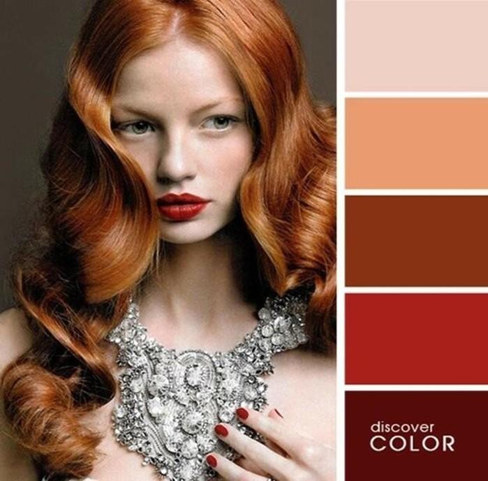 артёмова сочетание цвета волос с цветом одежды фото интерьера гостиной