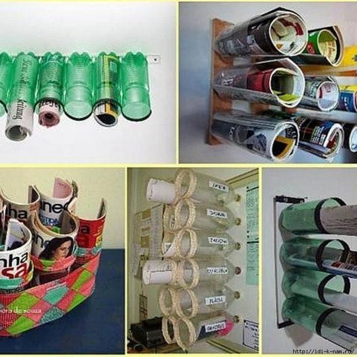 Лайфхак как использовать пластиковую бутылку, что делать с платиковыми бутылками, /4682845_prtvp (700x700, 345Kb)