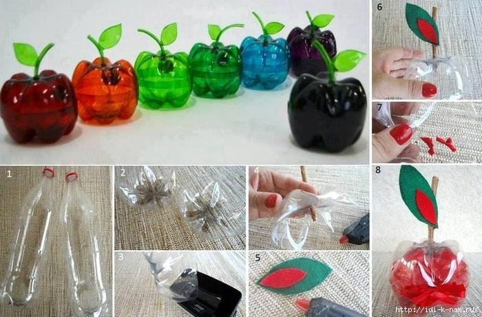 Лайфхак как использовать пластиковую бутылку, что делать с платиковыми бутылками,/4682845_original (700x460, 237Kb)