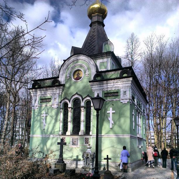 часовня ксении петербургской фото