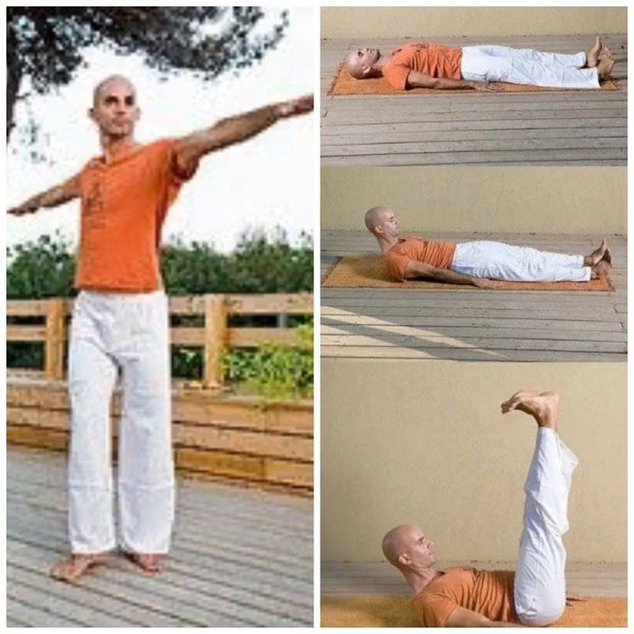 тибетская гимнастика для похудения с картинками хочу думать том