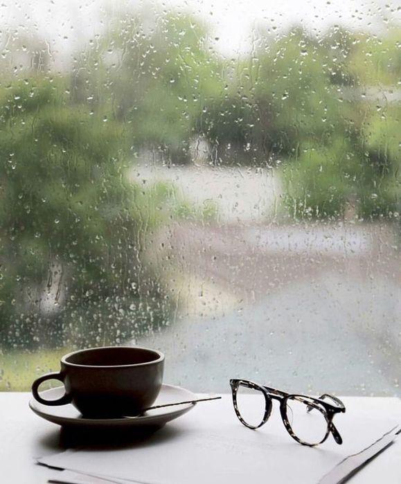 Открытка дождь за окном и настроение, для денег детские