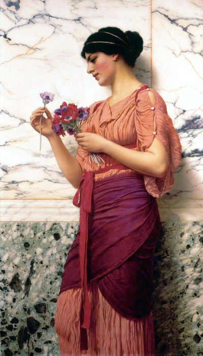 John William Godward (1861 - 1922) (399x700, 308Kb)