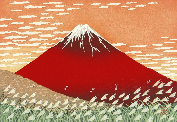 Fuji in Autumn. (700x481, 436Kb)