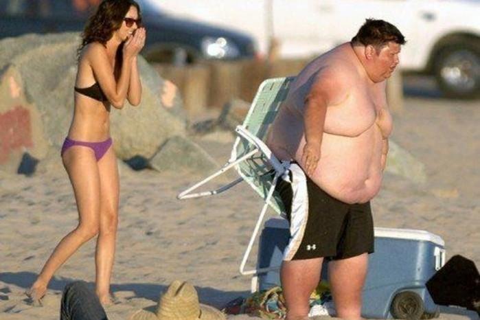 Подборка фотографий прикольных толстяков
