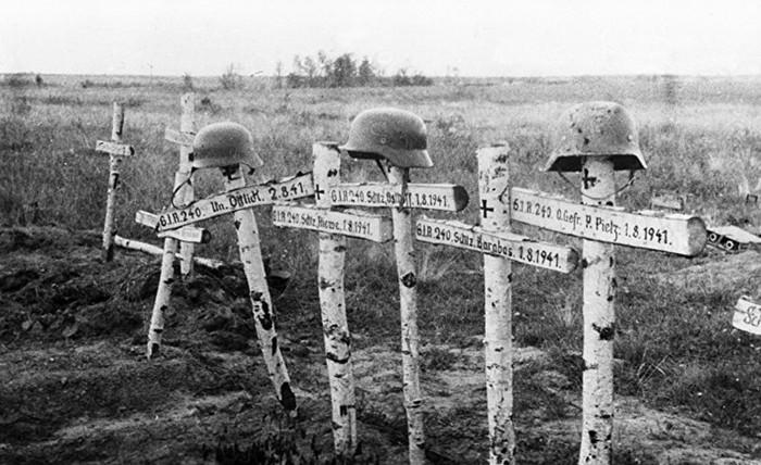 Самое крупное кладбище немецких солдат в России