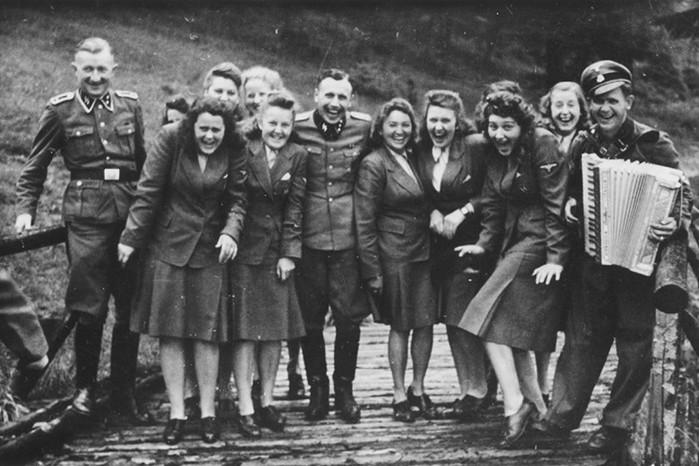 Кто были «фронтовые подруги» немецких оккупантов
