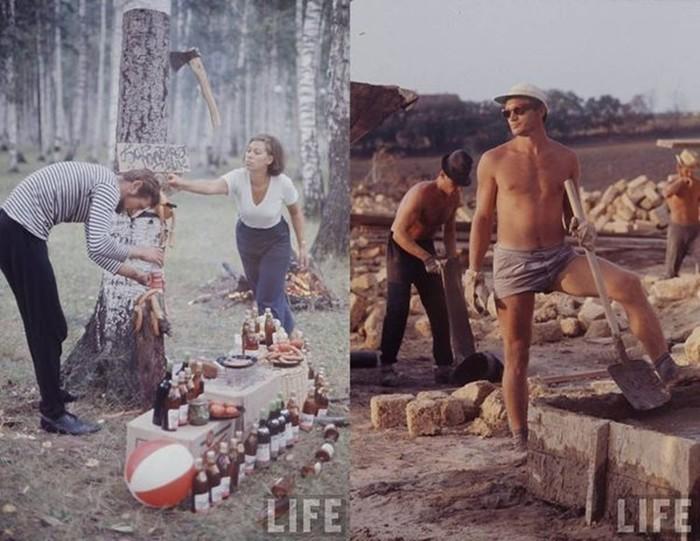 Советская молодежь 1960-х глазами американского фотографа