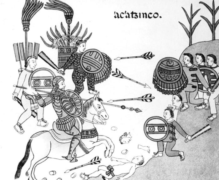 Что спровоцировало гибель цивилизации ацтеков?