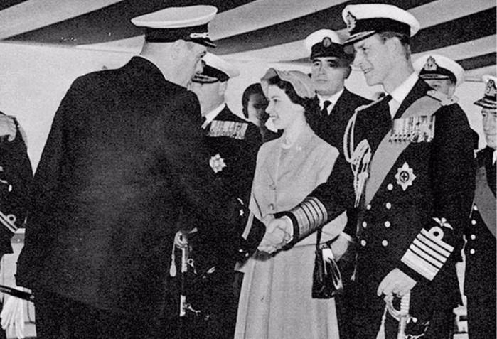 Любовный роман британской принцессы и советского адмирала Рудакова