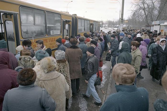«Скотовозка» и «гармошка»: ужасный советский общественный транспорт