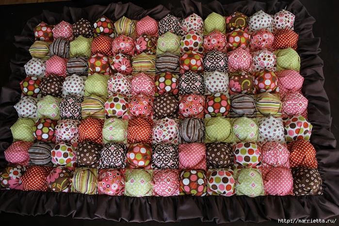 Шьем детское одеяло с пузырьками. Фото мастер-класс