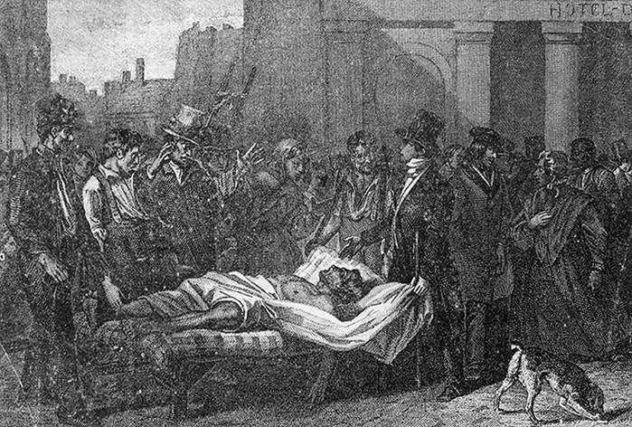 Ужасные последствия аномально холодного лета 1816 года