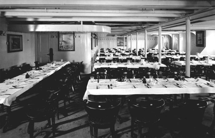 Меню «Титаника»: какие блюда предлагали богатым пассажирам погибшего лайнера