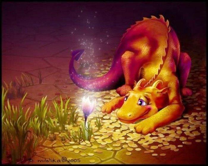 Мордочки, открытки с днем рождения драконы