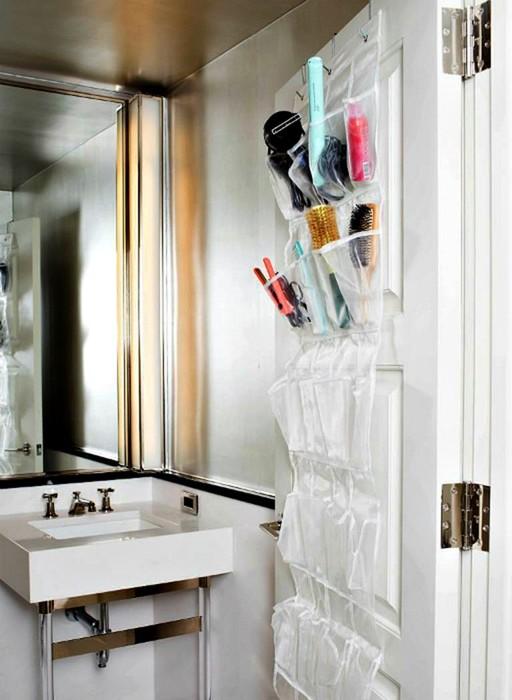 Идеи хранения вещей в небольшой ванной комнате