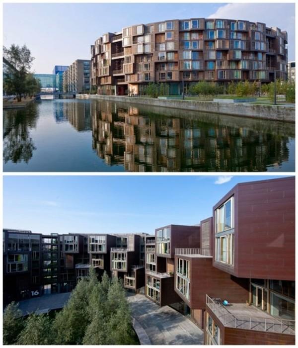 Кампус будущего: студенческое общежитие в Дании