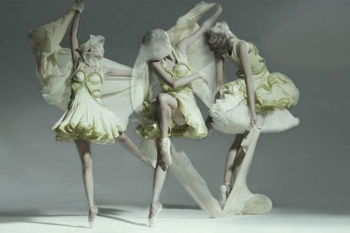 Балет: серия великолепных фотографий, в которых царит атмосфера свободы и лёгкости