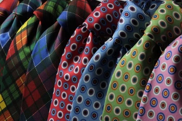 Как завязать идеальный узел на галстуке понаучно выверенной методике