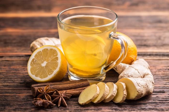 худеть имбирь чаем шиповника