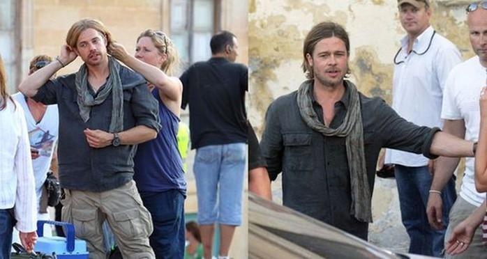 Голливудские актеры и их дублеры