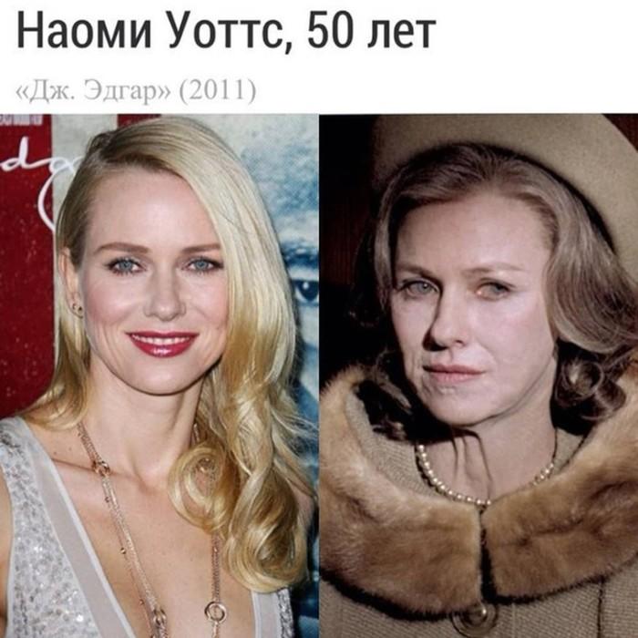 Известные актрисы, состарившиеся для роли
