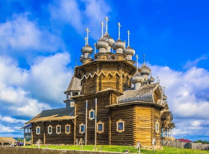 Кижи, остров. Спасо-Кижский погост. Покровская ц., 1764 г. (700x514, 103Kb)