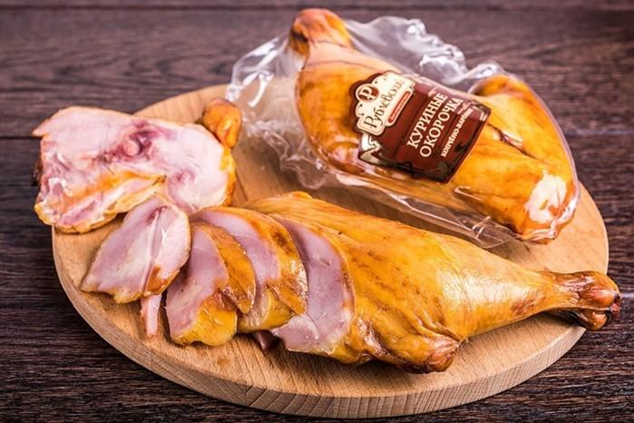 Результаты исследования копченых куриных окорочков