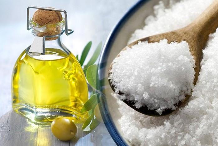 Домашнее обезболивающее из соли и масла