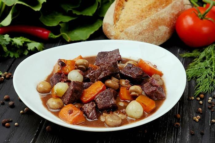 Рецепт говядины по бургундски