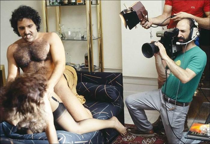 Фотографии золотого века порно, сделанные со стороны