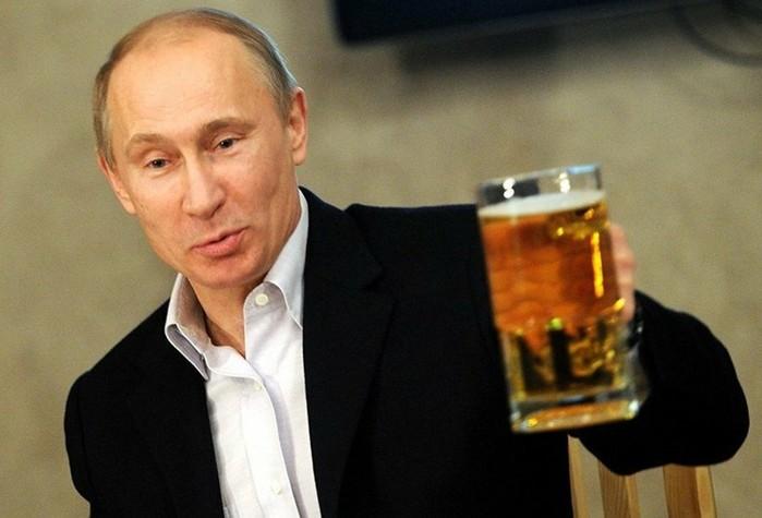 Россия заняла седьмое место по потреблению алкоголя