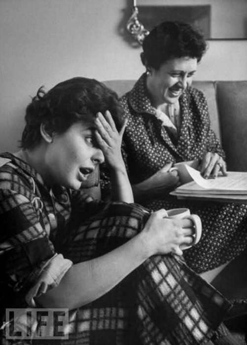 Мамочки (обновлено): фотографии LIFE знаменитостей с мамами