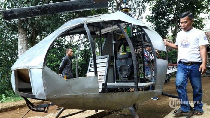 Инженер самоучка построил вертолет по видеоурокам