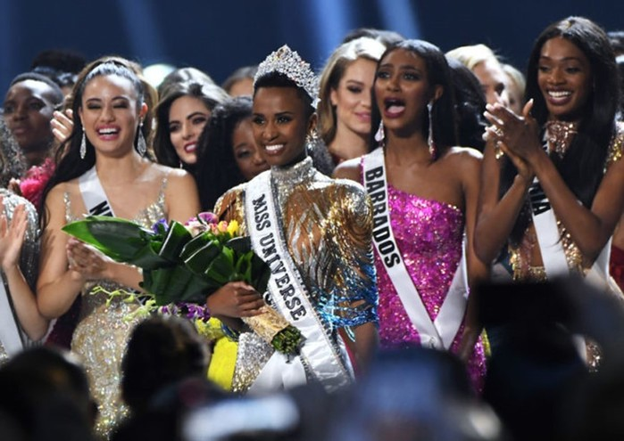 Все чернокожие девушки победительницы «Мисс Вселенная»