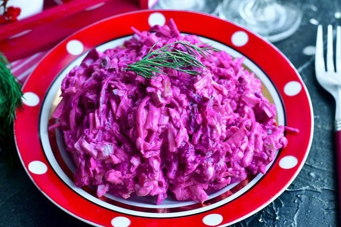 Вкусный овощной салат «Изюминка»