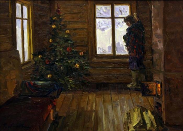 Рыбакова Ирина Рождество (700x500, 332Kb)