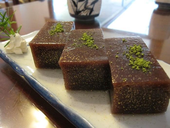 Пять японских сладостей