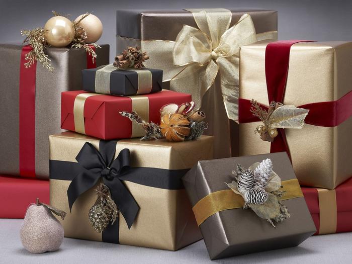 Упаковка на новый год картинки