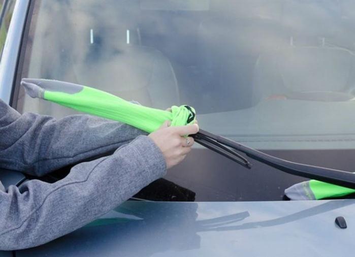 Резинки на стеклоочистителях приходят в негодность
