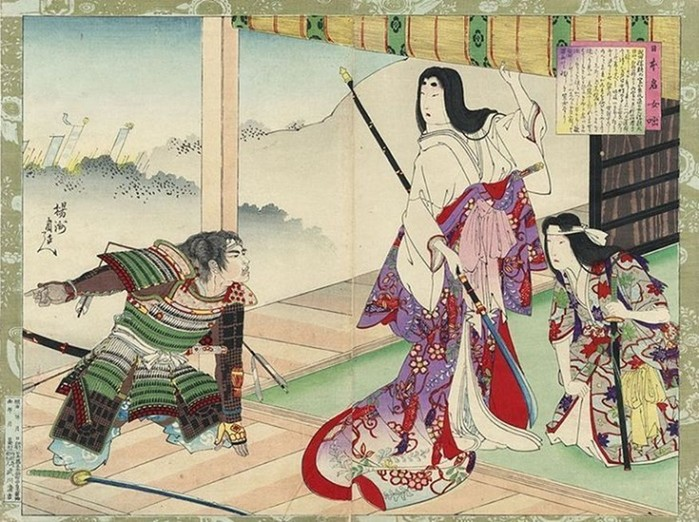 Женщины самураи: как сражались японские воительницы