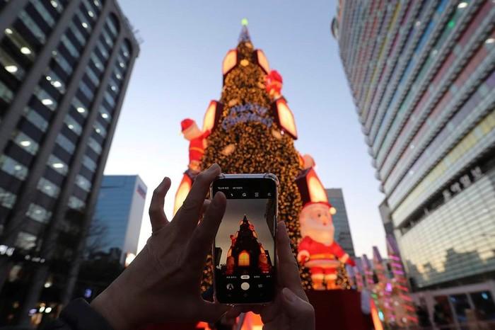 Новогоднее оформление городов мира