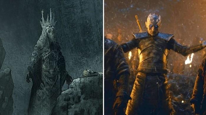 Король Ночи в «Игре престолов» выглядел иначе