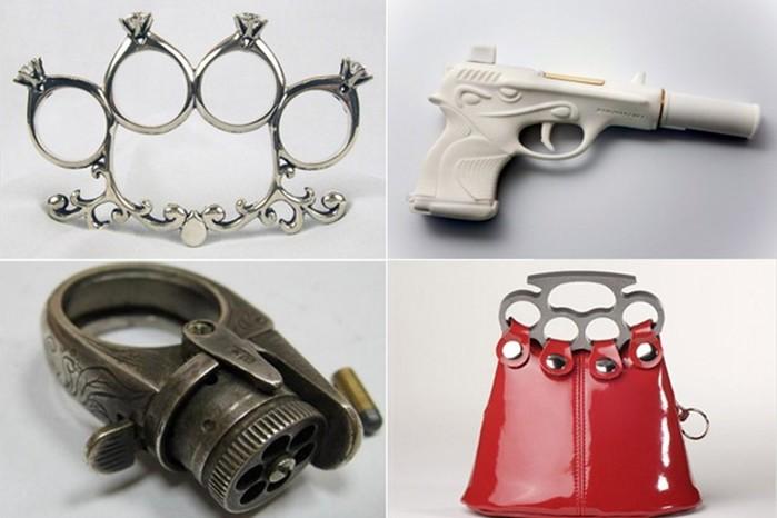 Самое оригинальное женское оружие для самообороны
