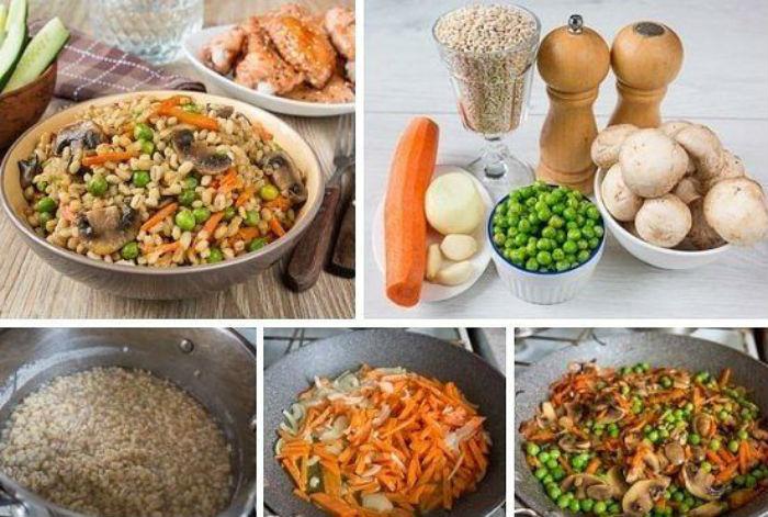 Рецепты С Перловкой Вторые Блюда Для Похудения.