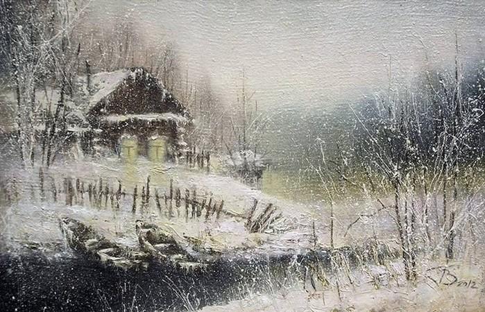 Художник Виктор Гридасов   пейзажи и натюрморты