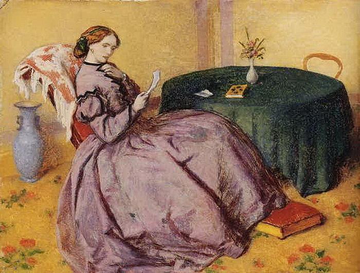 1886 Январь.  любовное письмо. Х, м. 17,2 х 21,6 см. Аук Кристис Лондон 2003 (700x532, 151Kb)
